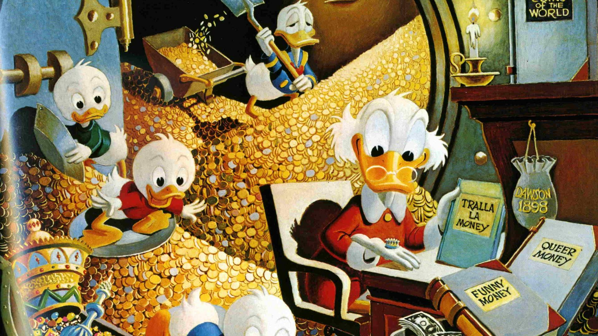 Call-Bark-Oilpainting-Scrooge-mcDuck-1920x1080-Need-iPhone-S-Plus-Background-for-wallpaper-wp3603836