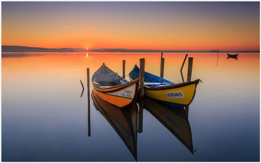 Canoeing-Lake-Boats-Sunrise-canoeing-lake-boats-sunrise-1080p-canoeing-lake-b-wallpaper-wp3403721