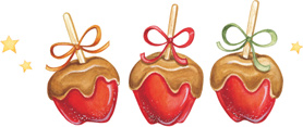 Caramel-Apples-Artwork-by-Gooseberry-Patch-wallpaper-wp4604579