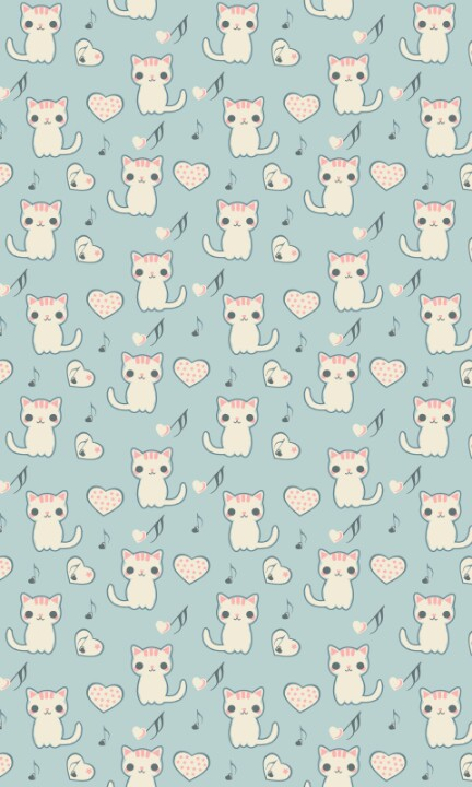 Cat-pattern-wallpaper-wp4805127