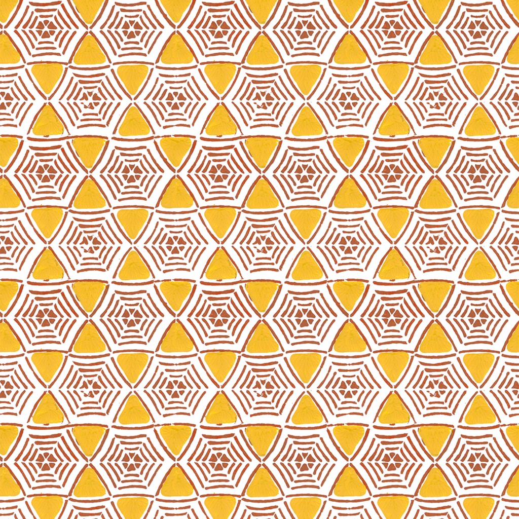 Caught-In-My-Web-in-Saffron-yellow-Hand-printed-wallcovering-by-Sarah-Ruby-www-sarahrubydesi-wallpaper-wp5205059