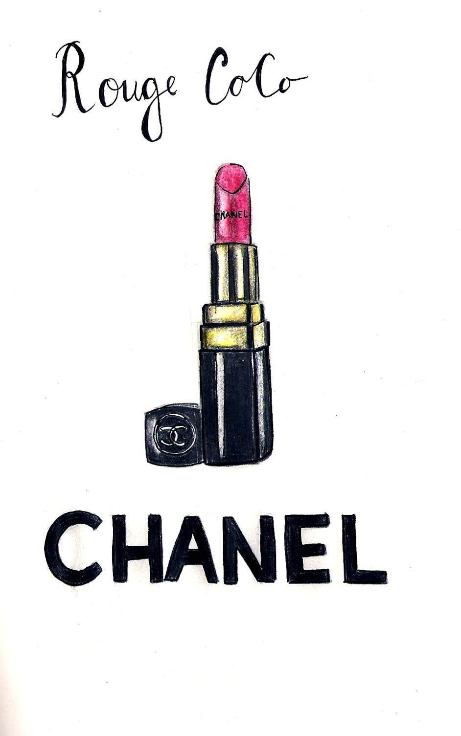 Chanel-illustration-wallpaper-wp5005850