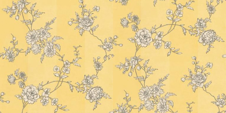 Chantilly-Mimosa-Sophie-Conran-A-pretty-etching-style-fine-floral-trail-draw-wallpaper-wp5005878