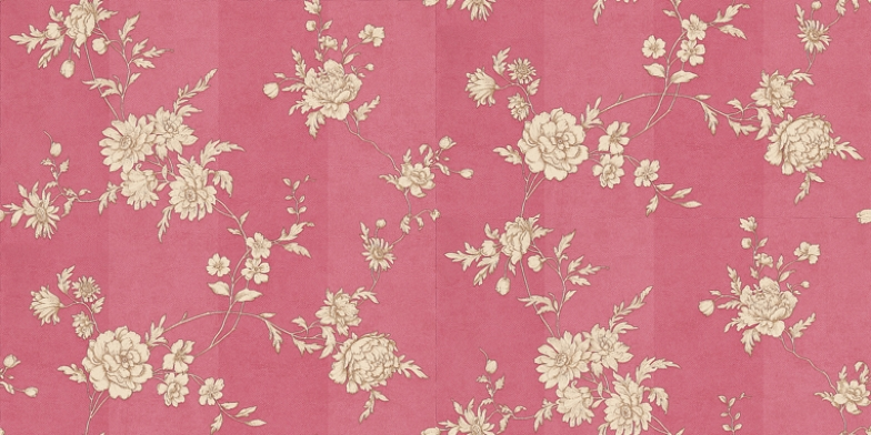 Chantilly-Raspberry-Red-Sophie-Conran-A-pretty-etching-style-fine-floral-tra-wallpaper-wp5005879
