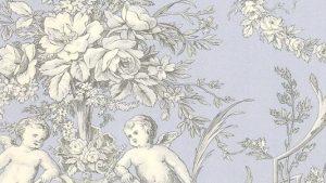 Vintage wallpaper français