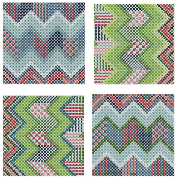Chevron-Counted-CrossStitch-Patterns-wallpaper-wp5203209