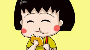 Chibi Maruko chan wallpaper