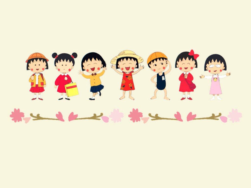 Chibi-Maruko-Chan-siempre-preparada-para-cualquier-ocasión-Caricaturas-animadas-manga-Chibi-wallpaper-wp424490-1
