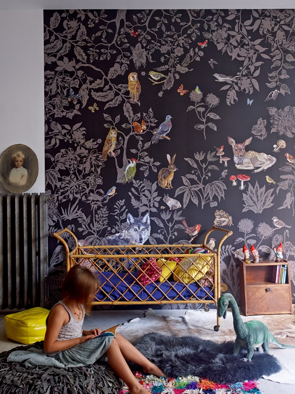 Chic-Kids-Rooms-Forest-kids-decor-wallpaper-wp460168