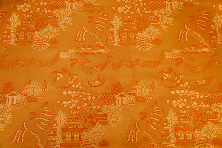 China-Grove-Woven-Silk-WF-Apricot-by-Waterhouse-Fabrics-and-Wallcoverings-wallpaper-wp6002687