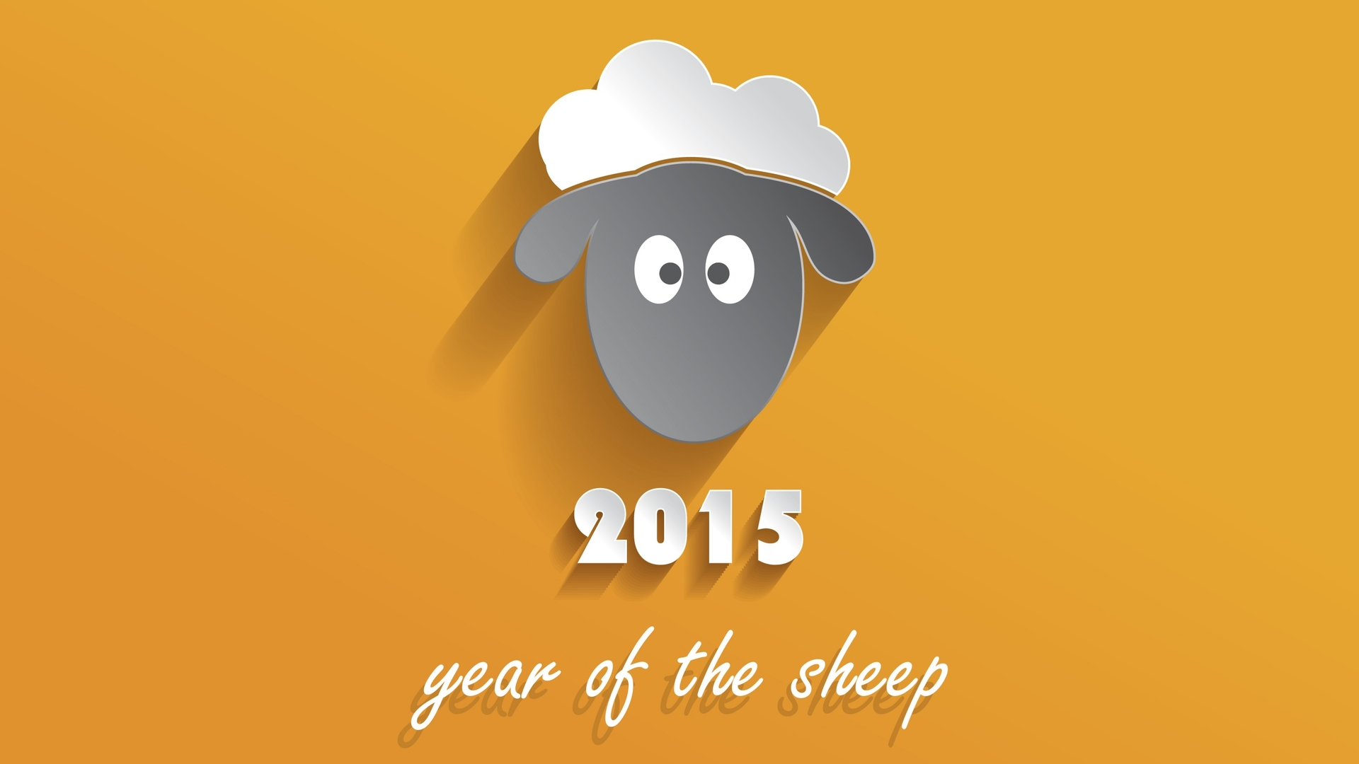 Chinese-New-Year-of-the-Sheep-Ram-Goat-flat-material-design-shadow-wallpaper-wallpaper-wp4805244