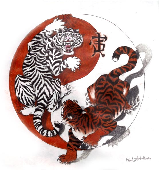 Chinese-Tigers-Yin-Yang-Tattoo-Design-wallpaper-wp5603829