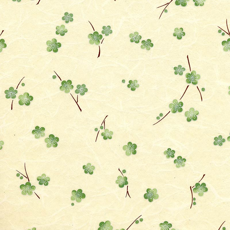 Chiyogami-Scattered-Plum-Blossoms-Green-on-Cream-wallpaper-wp5804566