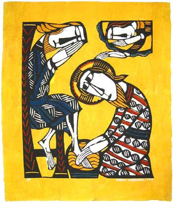 Christ-Washing-the-Feet-of-St-Peter-by-Sadao-Watanabe-wallpaper-wp5404092