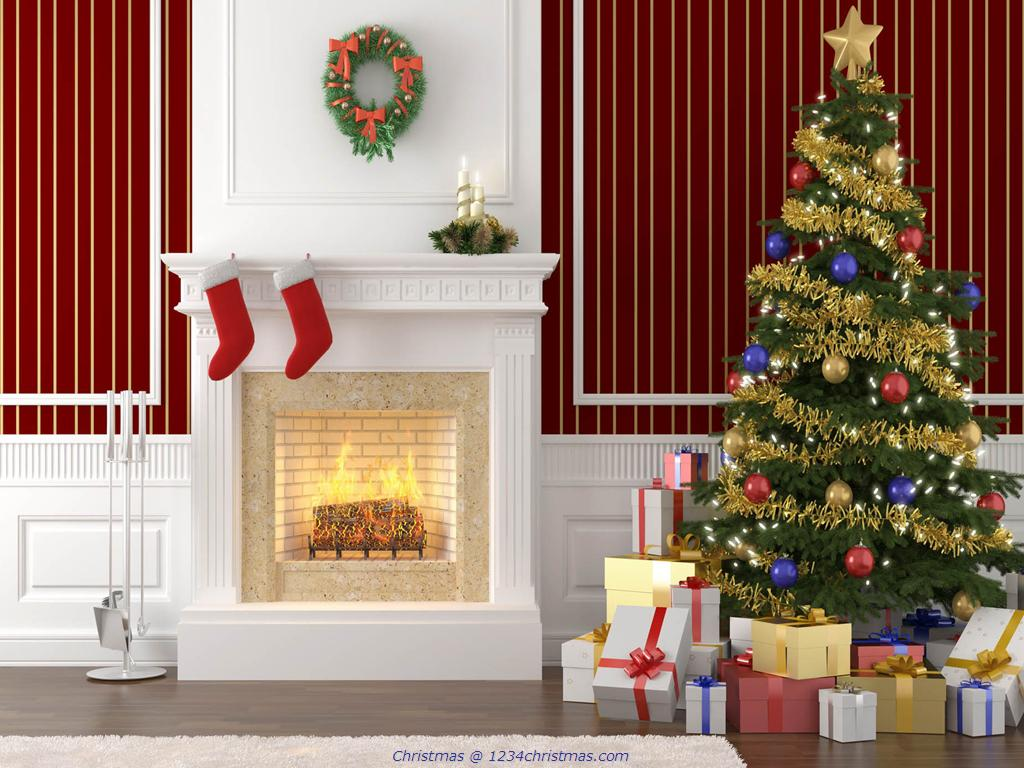 Christmas-Tree-and-Fireplace-Desktop-Wallpaper-wallpaper-wp480255