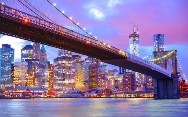 City-Lights-and-bridges-Brooklyn-bridge-city-lights-Pictures-Photos-Images-wallpaper-wp3004372