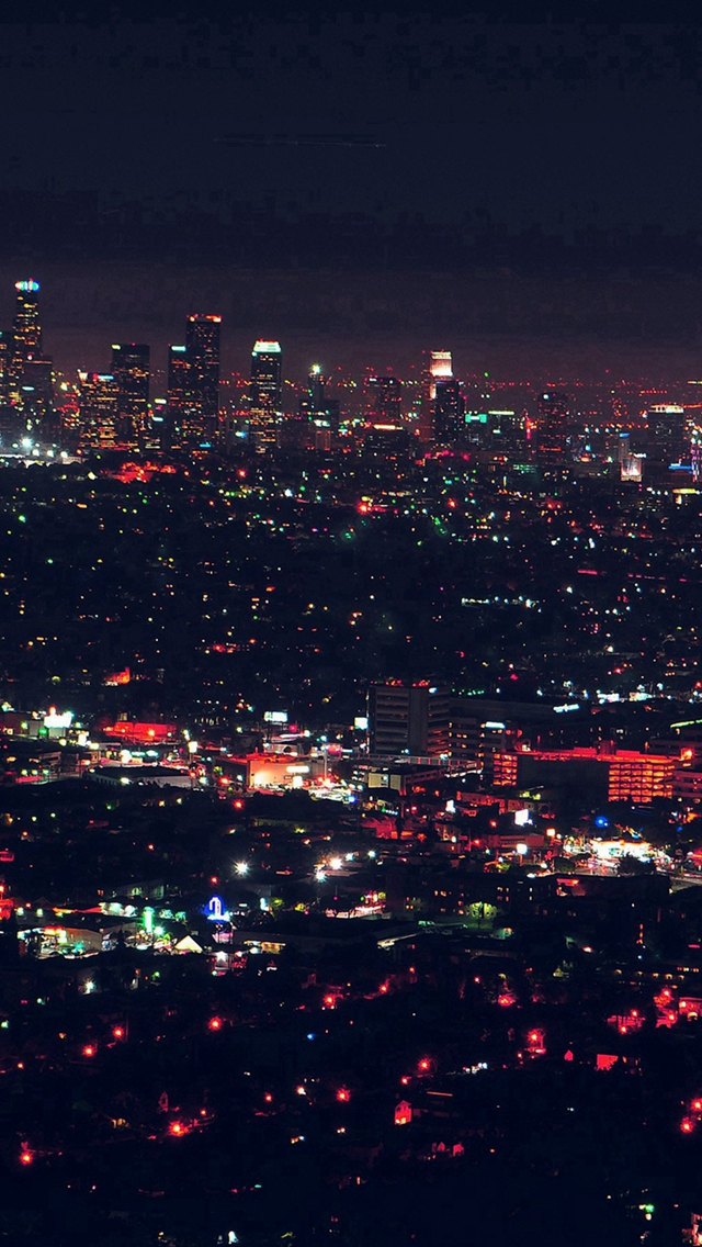 City-View-Night-Light-Red-iPhone-s-wallpaper-wp424552