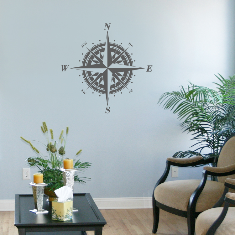 Classic-Compass-Rose-Nautical-Wall-Decals-Stickers-Graphics-wallpaper-wp5205269