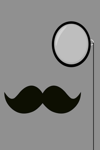Classy-Moustache-iPhone-Android-wallpaper-wp4604871