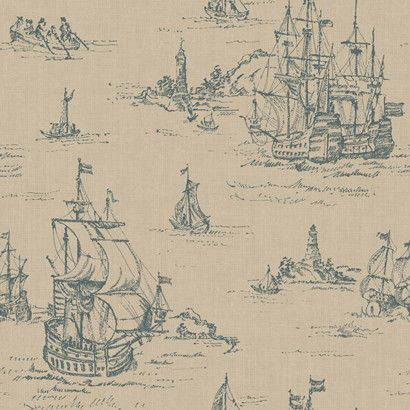 Clipper-in-Taupe-and-Soft-Grey-design-by-Ronald-Redding-wallpaper-wp5404157