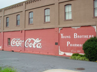 Coca-Cola-wall-Young-Brothers-Pharmacy-wallpaper-wp5603957