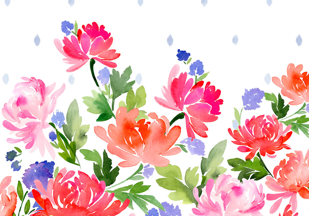 Colette-and-Blue-Floral-—-Yao-Cheng-Design-wallpaper-wp3004472