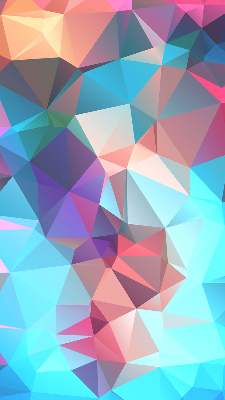 Colorful-Polygon-iphone-background-wallpaper-wp4805431