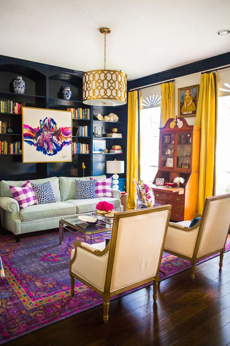 Colorful-living-room-Cassie-Hi-Sugarplum-wallpaper-wp5205335