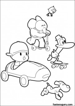 Coloring-pages-print-out-Pocoyo-Pato-and-Elly-has-race-Printable-Coloring-Pages-For-Kids-wallpaper-wp424644-1
