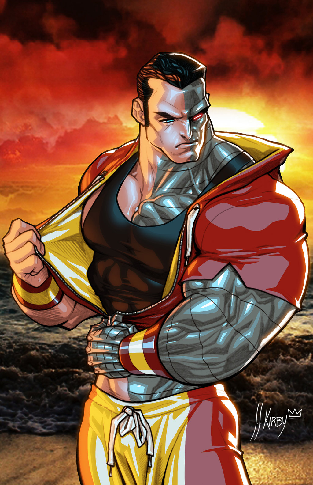 Colossus-by-JJ-Kirby-XMen-Mutants-wallpaper-wp540167