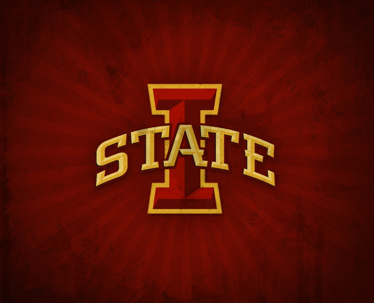 bleed iowa state cyclones cardinal and gold wallpaper