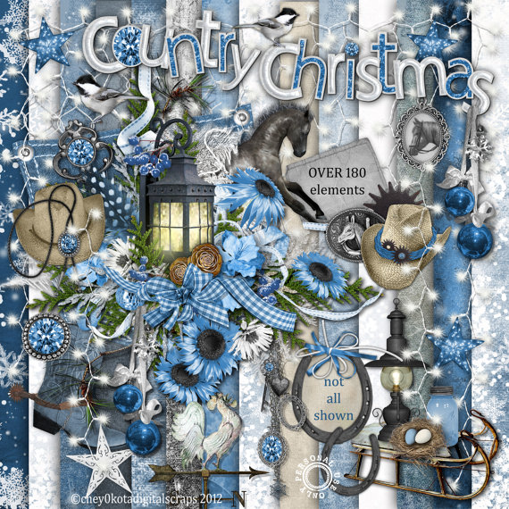 Country-Christmas-Element-Set-Digital-Scrapbooking-wallpaper-wp5604052