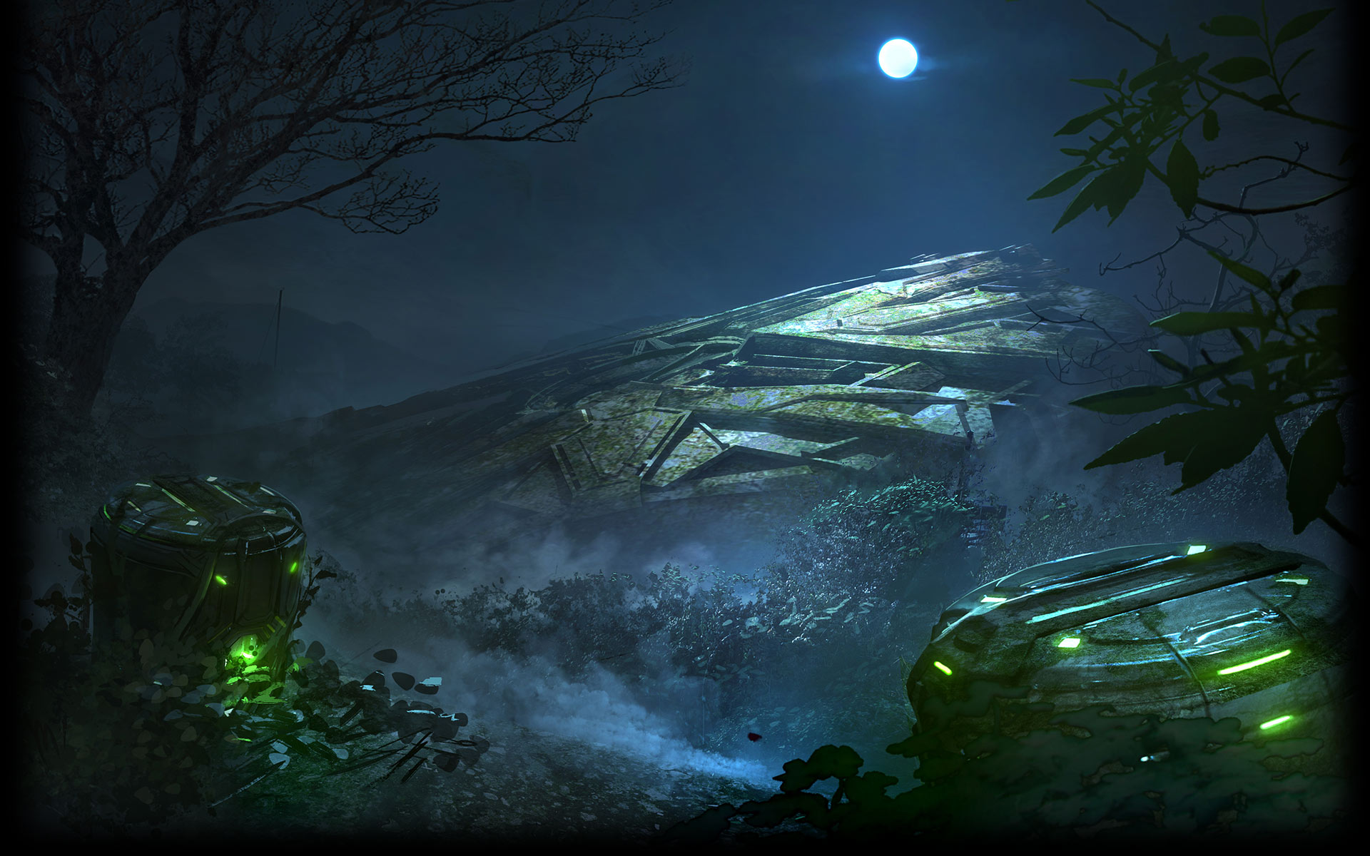 Crashed-Alien-Ship-At-Night-x-wallpaper-wp5205408