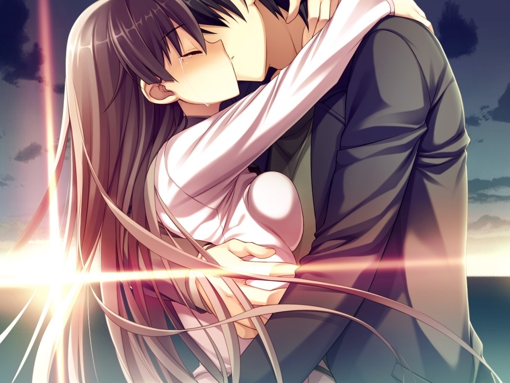 Cute-Anime-Paare-Cuddling-x-Anime-Couple-Kissing-x-hier-wallpaper ...
