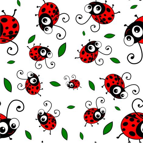 Cute-Ladybug-Pattern-fabric-by-inspirationz-on-Spoonflower-custom-fabric-wallpaper-wp3004706