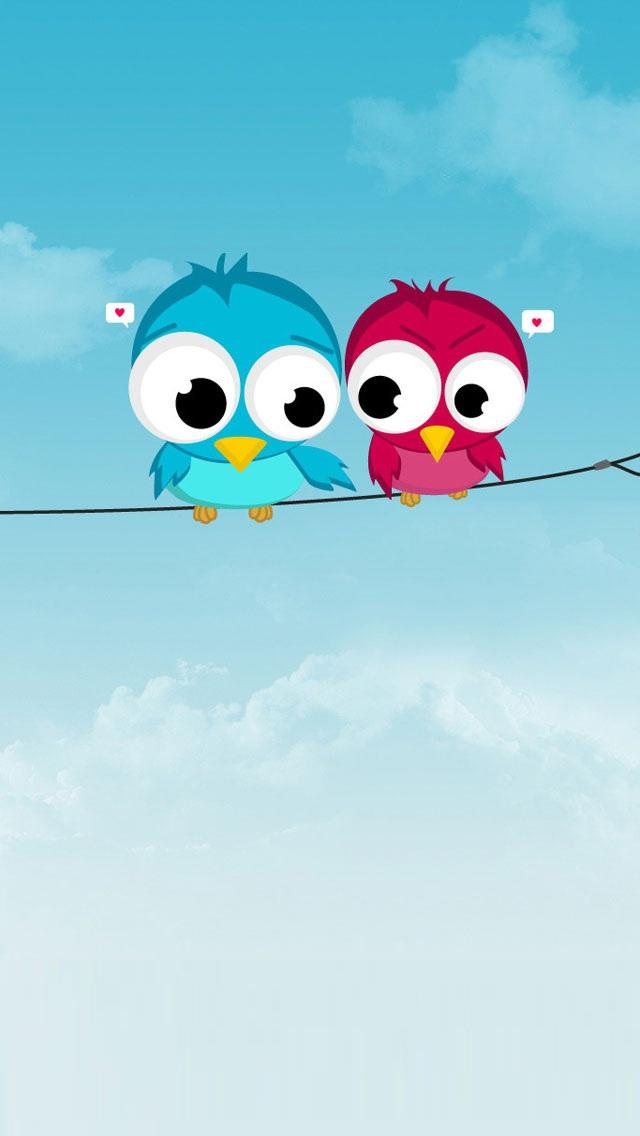 Cute-Twitter-Birds-for-iPhone-wallpaper-wp6002867