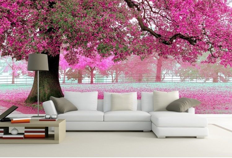 D-Bedroom-Mural-Roll-Romantic-Purple-Tree-Wall-Background-Home-TV-changyi-ModernArtAbst-wallpaper-wp5001418