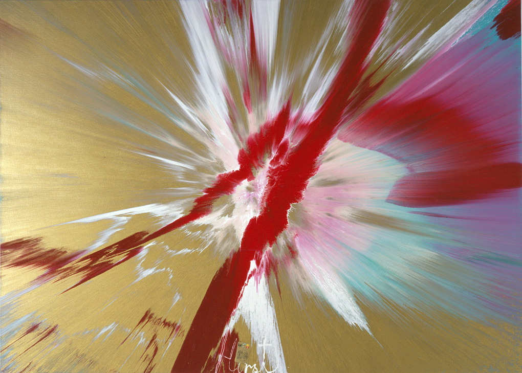 DAMIEN-HIRST-Gagosian-Gallery-Beautiful-Bleeding-Wound-Over-the-Materialism-of-Money-Painti-wallpaper-wp5602105