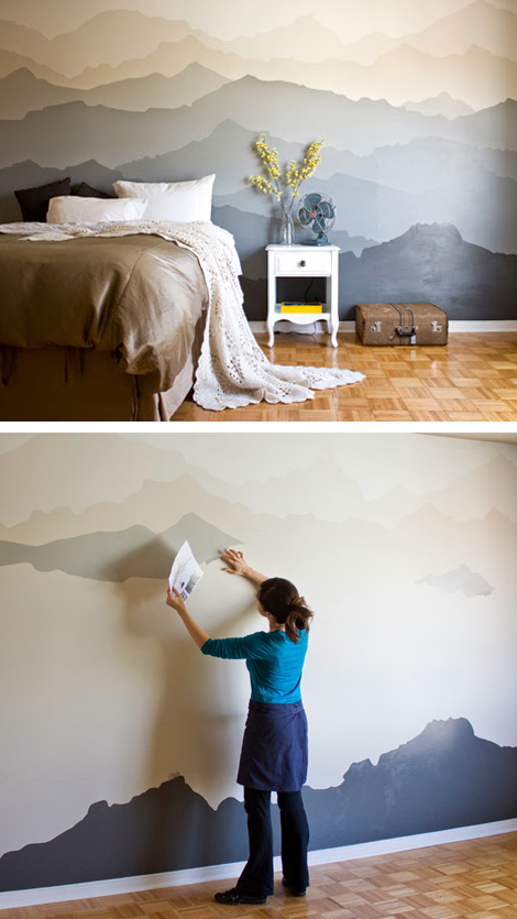 DIY-mountain-scape-effect-wall-wallpaper-wp5205863