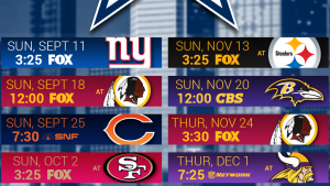 dallas cowboys tapet schema