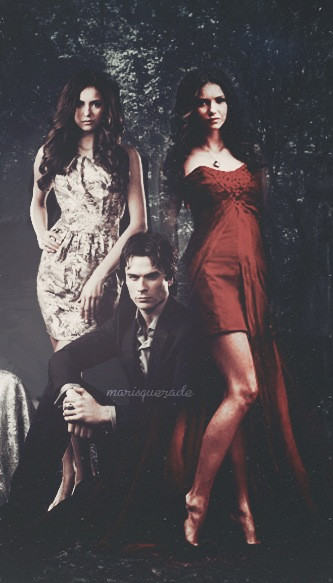 Damon-with-Elena-and-Katherine-wallpaper-wp5205584