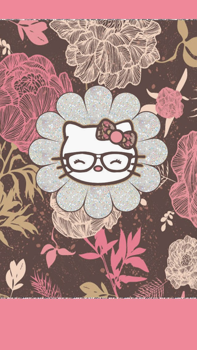 Dazzle-my-Droid-piece-floral-hello-kitty-walls-wallpaper-wp5804960