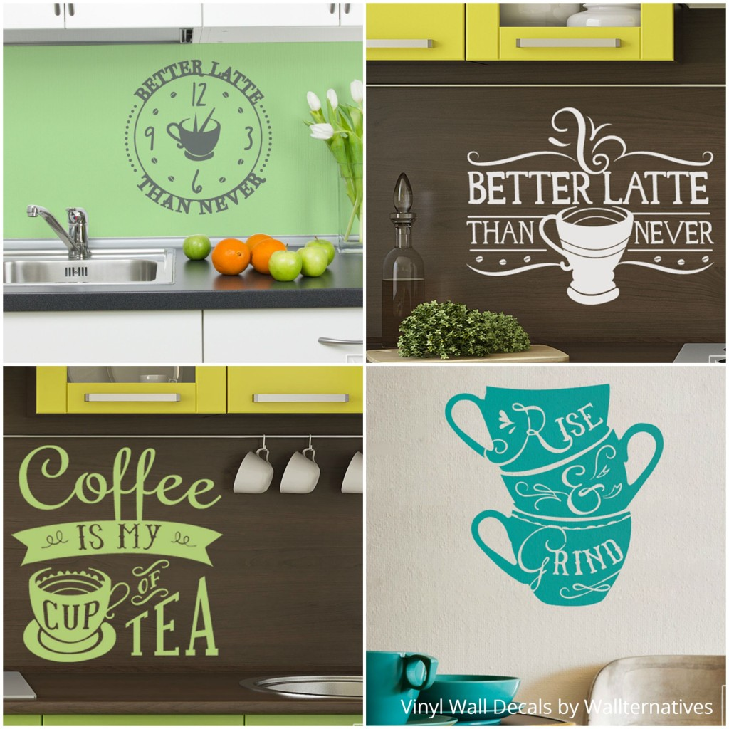 Decorate-your-kitchen-wall-art-with-vinyl-wall-quotes-Coffee-and-Tea-Wall-Decor-from-Wallternative-wallpaper-wp5404478