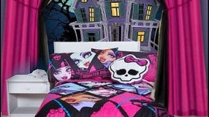 monster high bedroom wallpaper