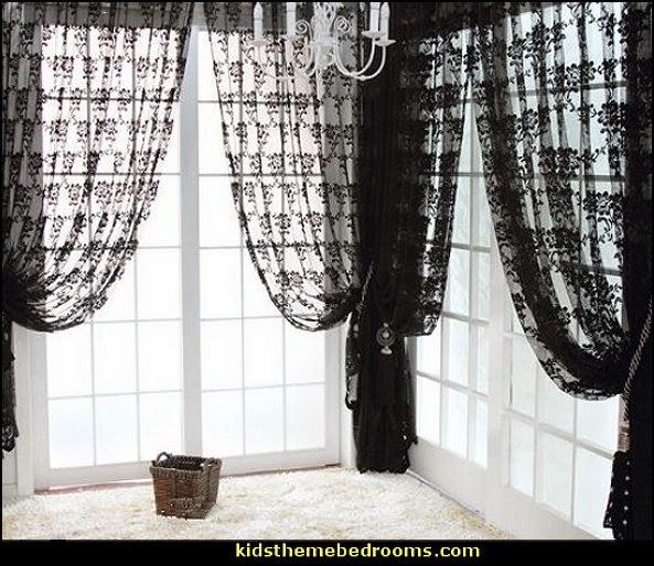Decorating-theme-bedrooms-Maries-Manor-skull-bedding-skull-wallpaper-wp5604303