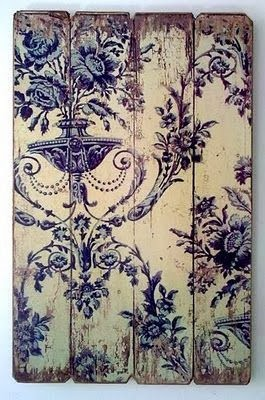 Decoupaged-distressed-old-on-weathered-reclaimed-pallet-wood-Dishfunctional-Designs-wallpaper-wp5205702