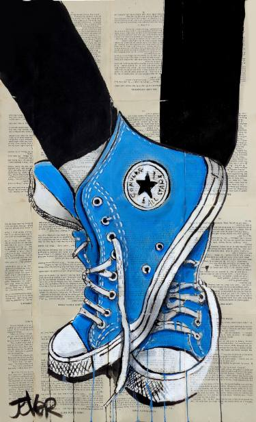 Desenho-de-All-Star-s-Converse-azul-blue-art-wallpaper-wp5205746