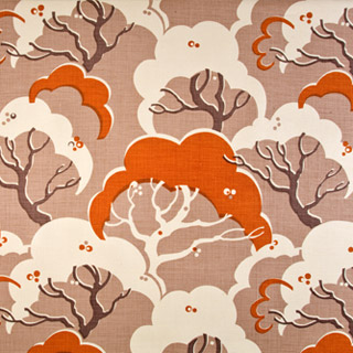 Design-of-stylised-clouds-and-trees-inspired-in-part-by-an-Edward-Bawden-lino-cut-Rapture-Wright-wallpaper-wp5006737