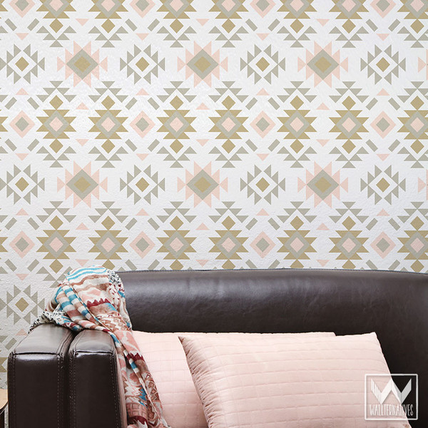 Designer-with-Western-Rustic-Aztec-Patterns-that-You-Peel-and-Stick-on-Walls-Wallterna-wallpaper-wp5404503