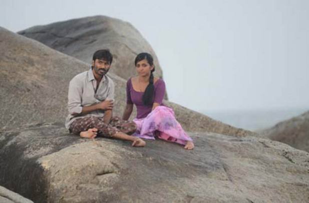 Dhanush-and-Parvathi-Menon-in-Maryan-Movie-wallpaper-wp4805916